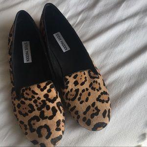 Leopard Print Steve Madden Loafers - Size 10